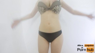 Preview 1 of F Cup Boobs Bounce So Hard they Clap !