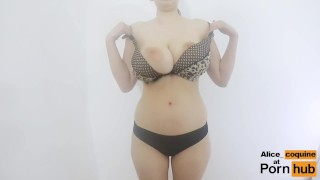 Preview 2 of F Cup Boobs Bounce So Hard they Clap !