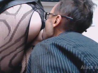 Mistress Rewards Male Slave with Ass Worship Preview