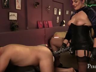 Domina Jemma's Giant Black Strap-On - Divine Fucking Cock