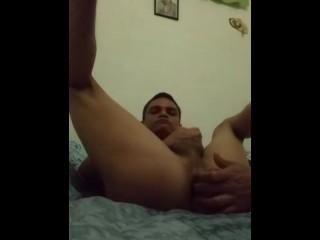 Masturbación a solas