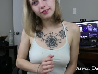 GFE JOI CEI (Your Girlfriend Finds Out You Like Eating Your Own Cum)