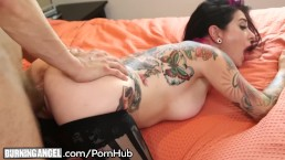 Joanna Angel Deeply Penetrated while Looking Stunning in Stockings