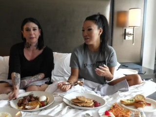 Asa Akira In Bed with Joanna Angel - Asa's Adventures Episode 3