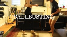 BALLBUSTING! Eric & Chaiyles now on Clips4Sale! CBT, Trampling, Femdom