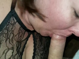Me getting my face fucked before hubby gets home.