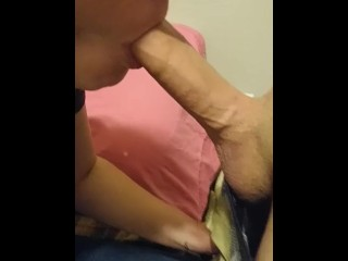 Close up with a creampie ending