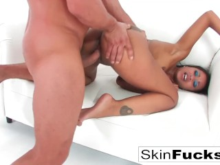 Skin loves getting fucked hard by Toni Ribas