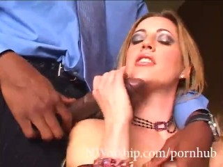 BBC Deep Anal with Blonde Bitch Holly Hollywood