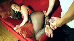 Aaane87 threesome with a dildo blowjob with mouth cumshot swallow hd 9