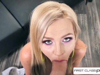 FirstClassPOV - Teen Astrid Star is punished by a big dick, big boobs