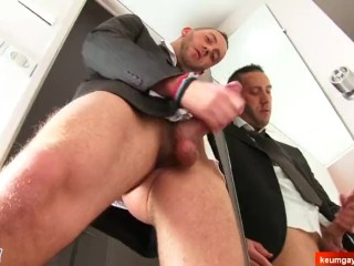 Jerem's big dick massage! (hetero male seduced for gay porn)
