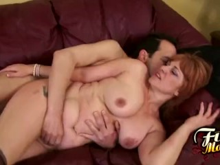 Calliste Gets Jizz On Her Tits