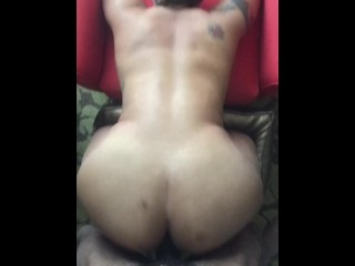 Fat Ass Fucked From Behind