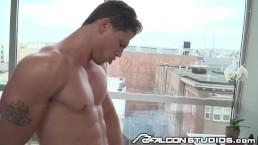 FalconStudios Big Dick Muscle Hunk Fucks Cute Ass