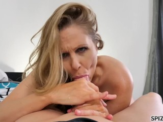 Spizoo - Legendary Julia Ann fucking a big dick, big boobs & big booty