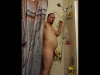 Shower Rinse and Rub