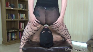 Grinding One Out - femdom pantyhose facesitting orgasm  slave smothering ass worship facesitting orgasm femdom milf pussy worship face sitting slave facesitting femdom pantyhose smother smothering mrs mischief pantyhose worship ass smother ass smothering