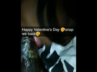 Valentines day on snapchat