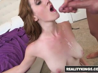 RealityKings - Big Naturals - Abby North and Tyler Steel - Titty Action