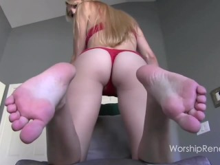 Big Feet JOI