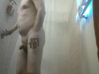 POV - Shower time hot and steamy