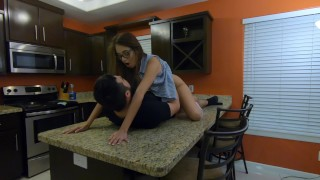 Very Long Pussy eating and Kitchen Fuck by Lexi Aaane - 4K 60fps  latina teen wet pussy cheating wife young mexican teen kitchen fuck brunette exclusive latin teenager verified amateurs eating pussy amateur teen fucking glasses teen glasses