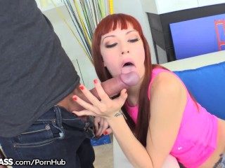 My Big Dick Gave My Red Head Step Sister A Facial