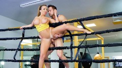 TeamSkeet - Busty Sparring Brunette Richelle Takes Some Cock Punches