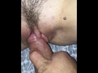 Pussy teasing until I cum
