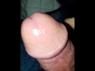 Masturbating To A Hot Wife Getting Anal