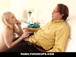 FamilyHookups - Tight Blonde Teen Lily Rader Gets Fucked By Her Uncle