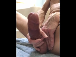 Post Bathmate Penis Pump Masturbation