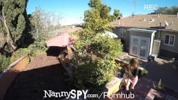 NannySpy Criminal babysitter Riley Reid fucks to keep her job