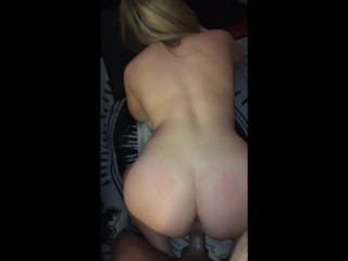 Pussy Creaming on Thick Veiny Cock Before Sucking