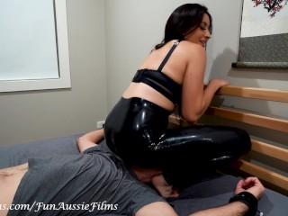 Video 1454953103: femdom fetish humiliation, femdom babes humiliate, latex fetish babe, femdom face farts, fart slave, amateur fart, latex couple, asian fetish babe, fart sniffing, fart eating