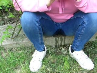 Video 1522836303: sunny day, solo pee fetish, amateur piss fetish, piss pee jeans, pee desperation pissing, solo female pissing, female pov peeing, pov panty fetish, piss soaked panties, amateur public piss, pissing pants public, pee jeans wetting, piss street
